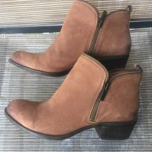 EUC Lucky Brand Booties